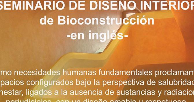 Seminario de Diseño Interior en Bioconstrucción en el Instituto Español de Baubiologie